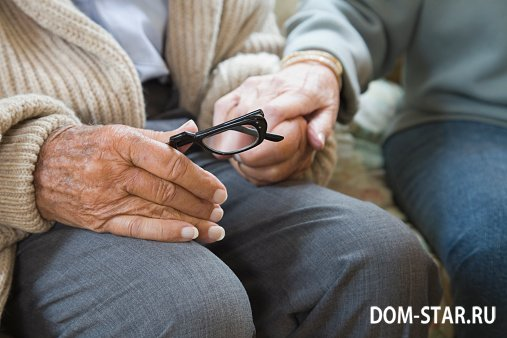 Почему трясется голова у пожилых